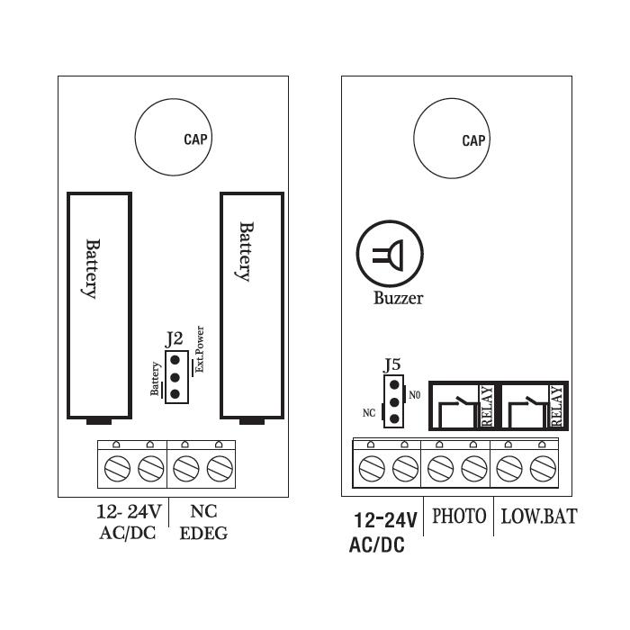 fotokomórki schemat safe sf03