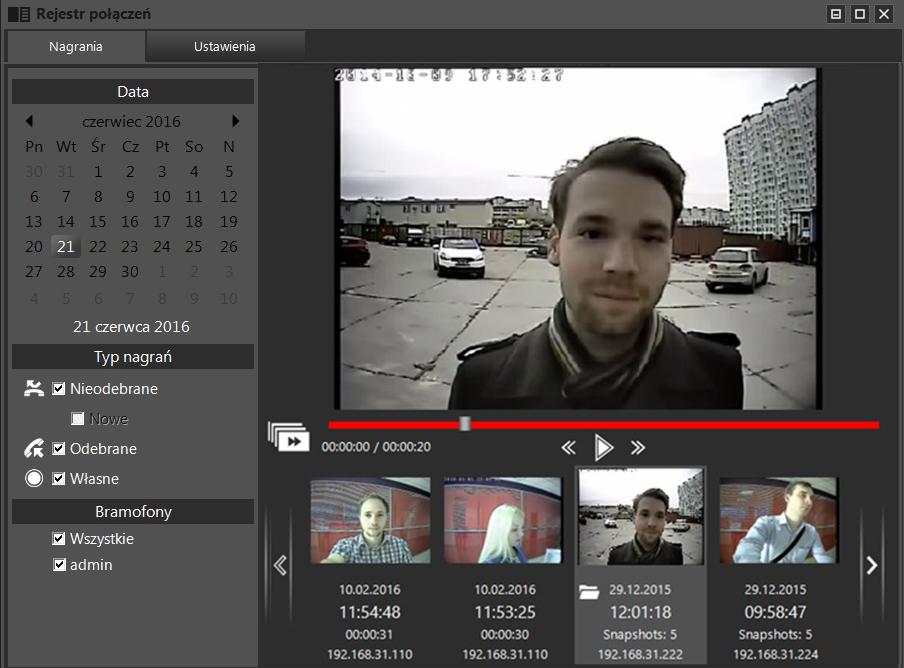 Nowa wersja oprogramowania wideodomofonu dla windows
